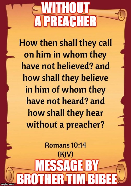 Without a Preacher